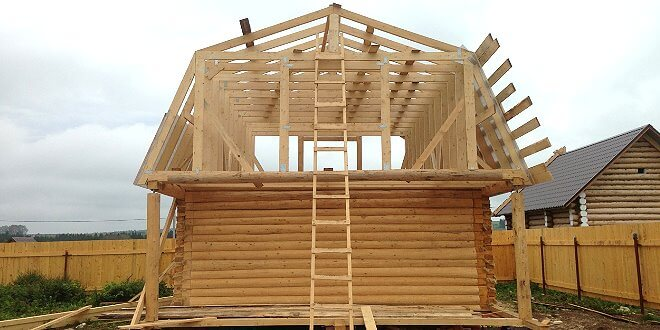 Какая форма крыши для бани лучше?