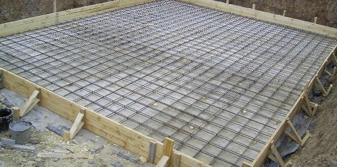 Схема монолитного фундамента под баню на даче