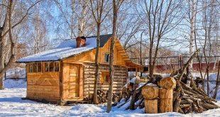 старая русская баня по проекту