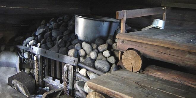 Печь для бани по чёрному: особенности конструкции