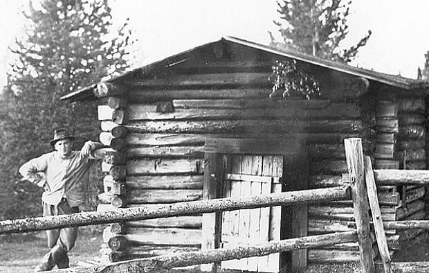 Финская дымная баня в первой половине 20 века