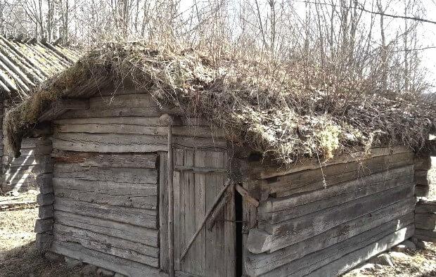 Финские бани по черному фото