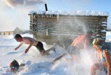 Photo of Правильное закаливание: в прорубь после бани