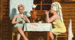 банное чаепитие - поход в баню