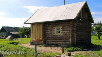 Photo of Как раньше строили бани в деревнях «всем миром»