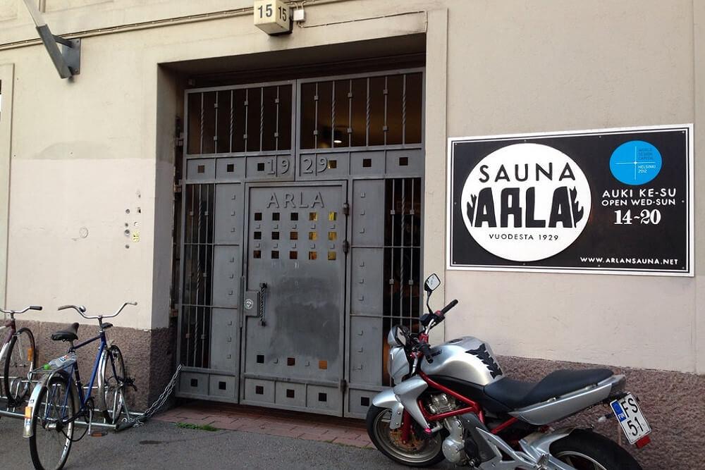 Arla-Sauna в Хельсинки