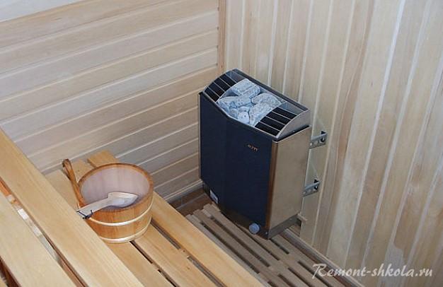 мини сауна в доме проекты фото