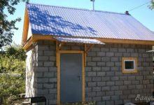 Photo of Внешняя отделка бани из пеноблоков кирпичной плиткой для фасадов
